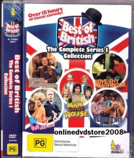 Best of British Complete TV Series 1 Classic Comedy 6 DVD Boxset New