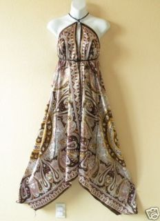 Versatile Silk Multi Wear Scarf Long Maxi Dress Skirt Maternity