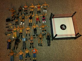 Lot of 25 WWE Action Figures