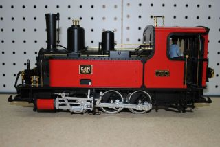 LGB 20790 Corpet Louvet Tank Steam Locomotive G Scale Red