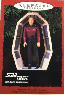 Star Trek Captain Jean Luc Picard MIB 1995 The Next Generation