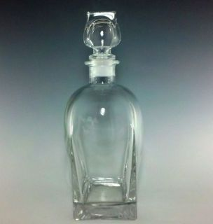 Luigi Bormioli Italian Crystal Whiskey Decanter 9 1 2