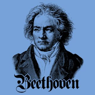 Ludwig Van Beethoven German Composer Symphony Piano Concerto Long