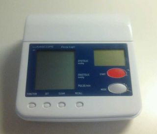 Lumiscope 1080 Deluxe Automatic Blood Pressure Monitor w Graph Display