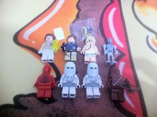 Minifigures Only Hoth Echo Base R 3P0 Figs Lot Star Wars Luke