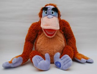 King Louie The Jungle Book 16 Tall Velcro Hands Free
