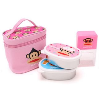 Paul Frank Lunch Box 2 Waterbottle Bag Set 2742