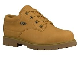 Lugz Mens Drifter Steel Toe Lo Work Shoes Boots Wheat Nubuck Leather