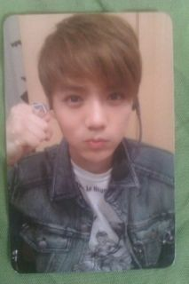 Exo M Mama PHOTOCARD Luhan Version A