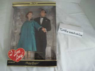 Love Lucy Barbie Doll Lucy Ricky 50th Anniversary