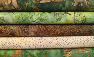 Half Yards Lunn Studios Nature Batiks