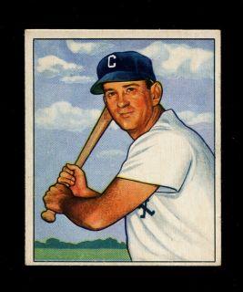 1950 Bowman Luke Appling 37 White Sox HOF EXMT High Grade
