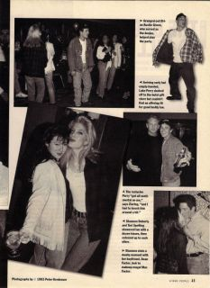 Hills 90210 clippings Shannen Doherty Luke Perry Brian Austin