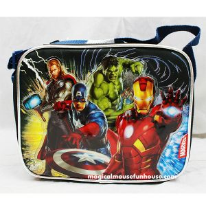 Avengers Marvel Licensed Insulated Lunch Box