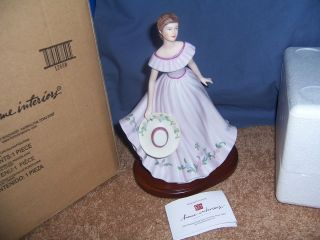 Virginia Lynn Figurine Masterpiece 2005 Home Interior Homco