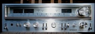 Vintage Pioneer Stereo Receiver Model SX 780