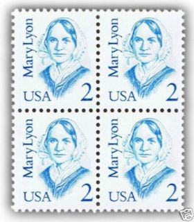 American Women on US Postage Stamps Mary Lyon