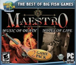 MAESTRO MUSIC OF DEATH + MAESTRO NOTES OF LIFE 2 PACK PC Game Hidden