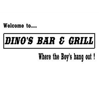 Thin Lizzy Phil Lynott Dinos Bar Grill T Shirt