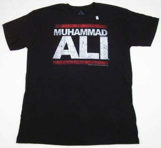 Muhammad Ali T Shirt Run DMC Boxing Run Ali Rap Mens Adult Tee s M L