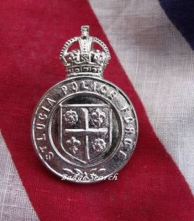 British Obsolete Police Cap Badge St Lucian Police Forc