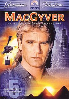 MacGyver he Complee Fifh Season DVD 2006 6 Disc Se