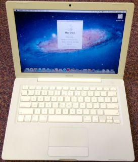 Apple MacBook Laptop Core 2 Duo 2 2 GHz 13 White MB062LL B Upgraded