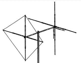 Small Beam Antenna Maco Y Quad Dual Polarity