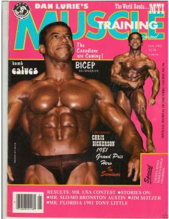 Muscle Training Dan Lurie Bodybuilding Fitness Magazine Chris