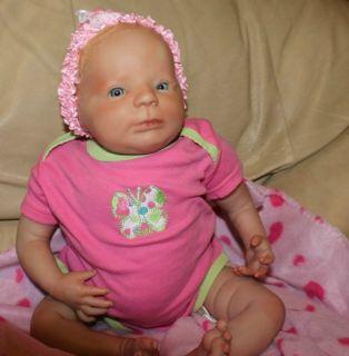 Reborn Baby Girl OOAK Doll Eliza Denise Pratt