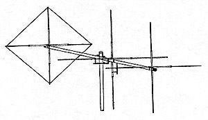 Maco Comet 6 Element Vert Horz CB Antenna