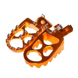 Billet CNC Foot Pegs Footrests for KTM SX 65 EXC 125 250 300 450 520