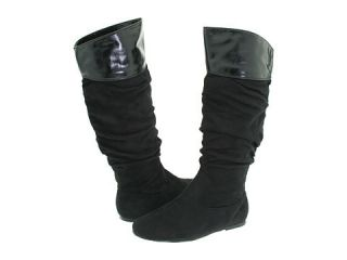 Steve Madden Womens Madden Girl Tatyana Boot Black 6
