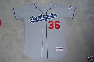 2006 Greg Maddux Los Angeles Dodgers Used Jersey