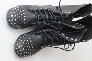 Steve Madden Madden Girl Studded Combat Boots