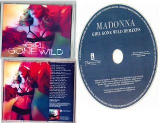Madonna Girl Gone Wild RARE Test Promo Acetate from EU