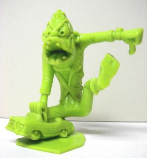1963 Marx Nutty Mads Donald The Demon Neon Green Color