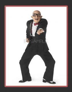 Six Flags Old Man Fridge Magnet