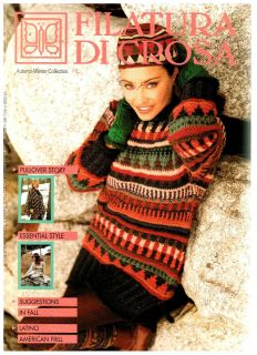 Filatura Di Crosa Knitting Magazine Autumn Winter Book 31 Ultra RARE