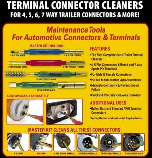 Terminal Cleaners Marine Boat Truck Trailer Tools