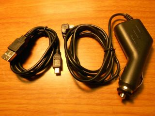 Car Power Charger Adapter USB Cord for Magellan GPS Roadmate RM 9020 T