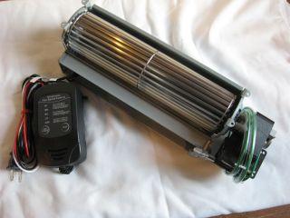 Majestic Fireplace Blower FK24 or FK12 Fan Replacement Kit Quiet
