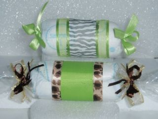 Candy Diaper Roll Baby Shower Cake Favor Gift Cupcake