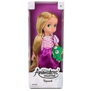 Disney Animators Rapunzel Princess Toddler Collection Doll 16