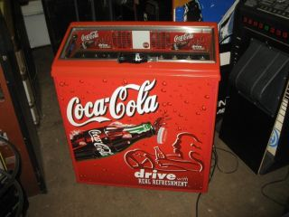 Coca Cola Cooler Machine Home Use Only Coke Machine Like New
