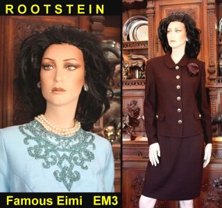2012 Rootstein $1255 Top Model EIMI Orig Makeup & Wig Full Size Female