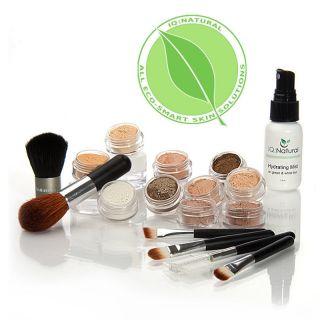 17 Try Me True Mineral Makeup Fair Kit 5 Brush Set