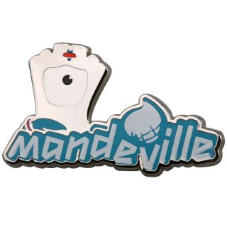 LONDON 2012 OLYMPICS MASCOT MANDEVILLE OFFICIAL PIN BADGE RARE ONLY 10