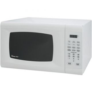 Magic Chef Microwave Oven Countertop 9 CU ft Digital White MCM990W 0 9