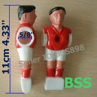 Foosball Soccer Table Football Player Man Figure Red